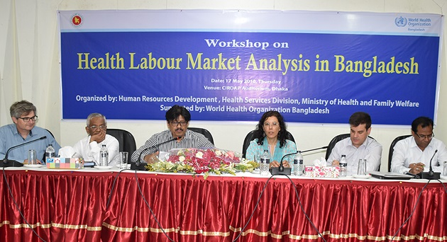 Bangladesh undertakes steps to assess health labour dynamics.